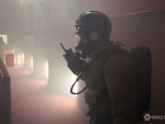 Многоэтажный дом загорелся в Кемерове