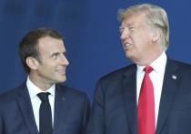 Трамп и Макрон отказались от тесных дружеских отношений мужчин