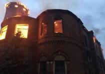 Благовещенская церковь сгорела в Одоеве Тульской области