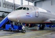 Аэрофлот получил в эксплуатацию пятидесятый российский самолет Superjet 100 (SSJ100)