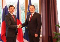 Андрей Клычков обсудил  с Чрезвычайным и Полномочным Послом Чешской Республики в РФ перспективы взаимодействия Орловской области и Чешской республики