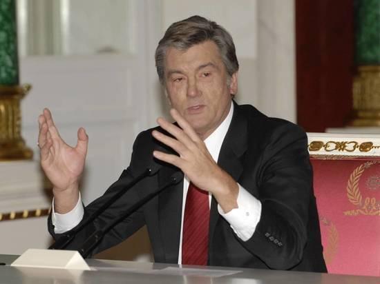 Ющенко сравнил ситуации вДонбассе ивпослевоенной Германии