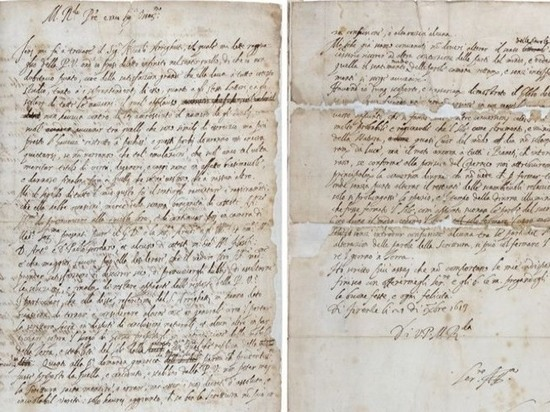 Найдено письмо Галилео Галилея, определившее его судьбу