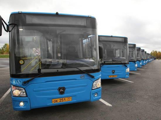 Вчера в Архангельск прибыли 30 новых пассажирских автобусов