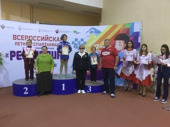 Югорчанка привезла комплект медалей с Всероссийской спартакиады