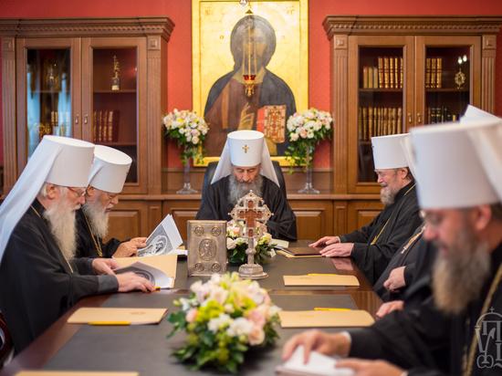 УПЦ потребовала от константинопольских экзархов покинуть территорию Украины