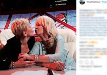Аллегрову и Успенскую поймали за поцелуем