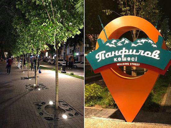 Улица Панфлилова стала символом реконструкции центра Алматы