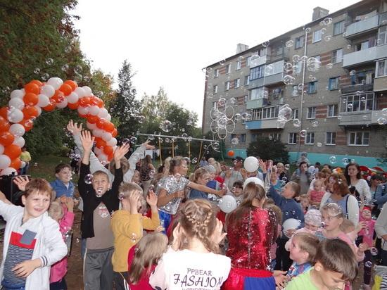 Площадка на радость детям от «Т Плюс»