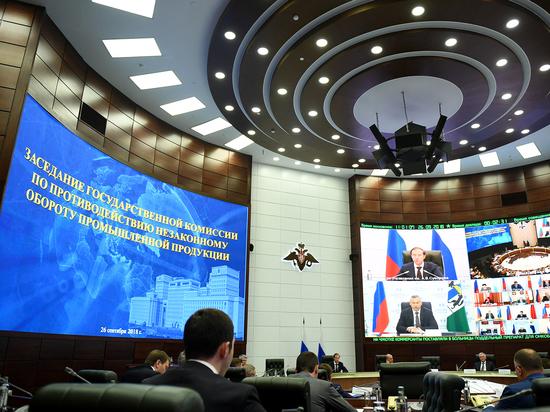 Игорь Руденя на заседании Госкомиссии преложил способы повышения эффективности борьбы с некачественной продукцией