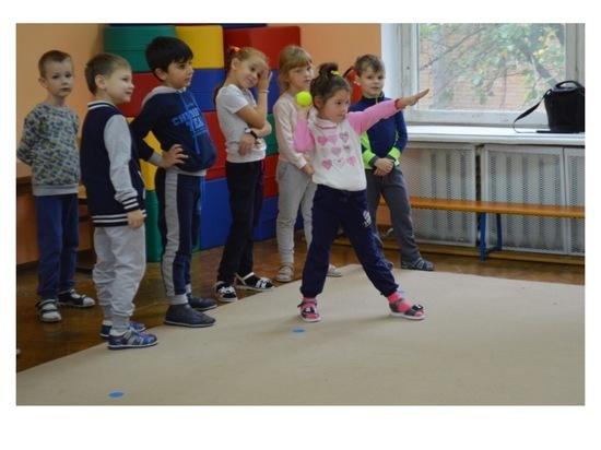 В Серпухове дошкольники сдали свои первые нормативы ГТО