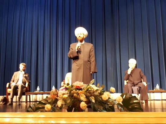 Верховный муфтий Сирии Ахмад Хассун встретился с сургутскими студентами