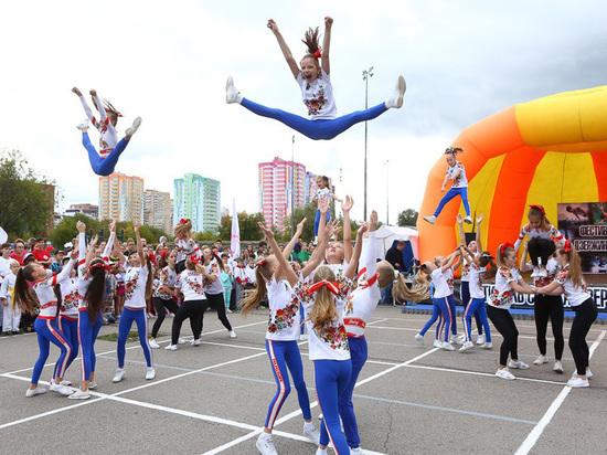 В Дзержинском районе Перми прошел массовый фестиваль спорта