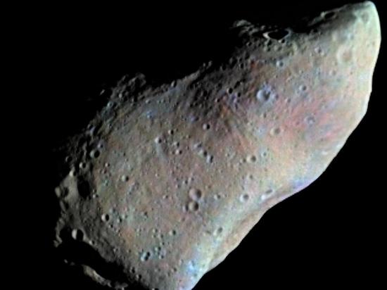 Опубликовано первое в истории видео с астероида