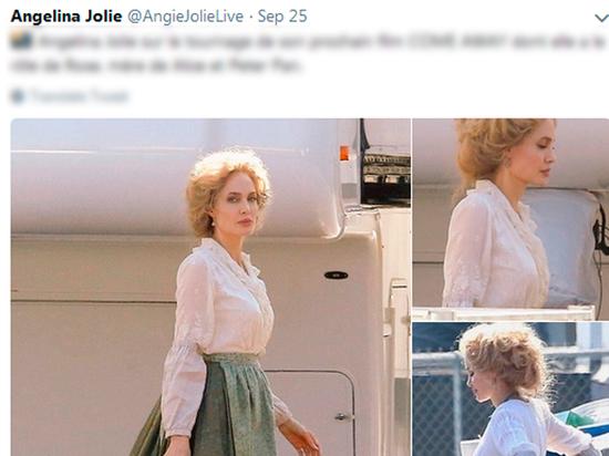 Анджелина Джоли кардинально сменила имидж, став кудрявой блондинкой