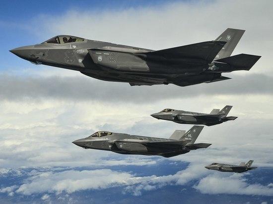 В США разбился новейший истребитель F-35B