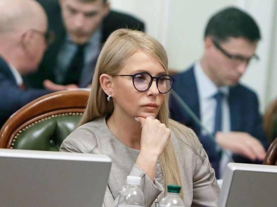 Тимошенко поклялась ликвидировать