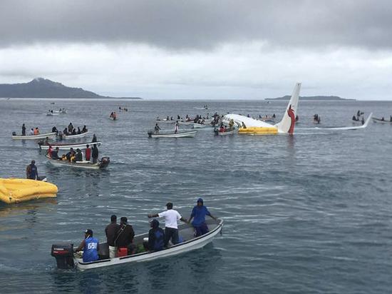 Эксперт объяснил почему авиакатастрофа в Микронезии обошлась без жертв