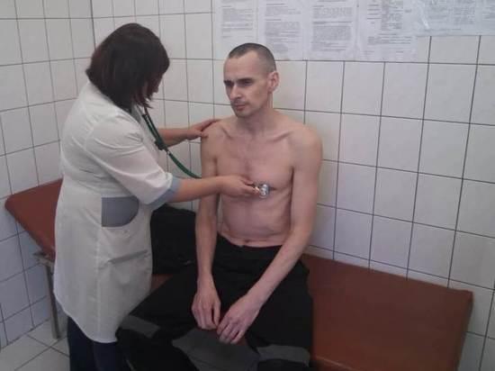 ФСИН опубликовала фотографию голодающего 139 дней украинского режиссёра Сенцова