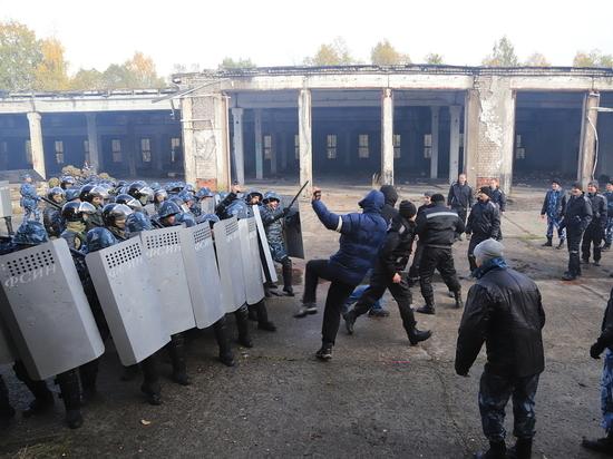 Масштабные учения спецназа прошли под Архангельском
