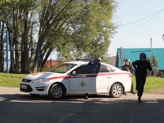 На Камчатке гвардейцы задержали разбойника