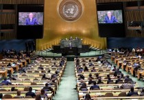 Биньямин Нетаниягу на Генеральной Ассамблее ООН выступил с речью