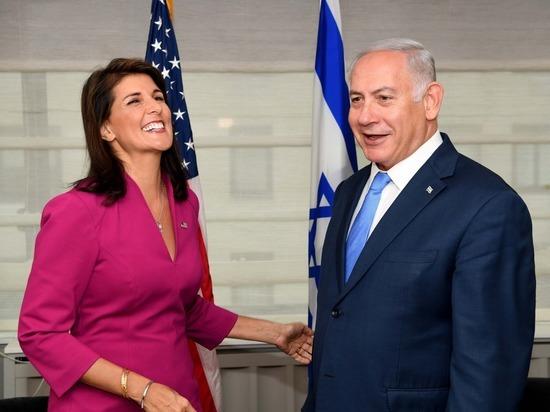 Премьер-министр Биньямин Нетаниягу встретился с постоянным представителем США при ООН Ники Хейли