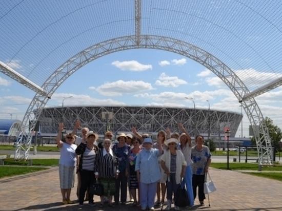 В Волгограде для пожилых людей проводят бесплатные экскурсии