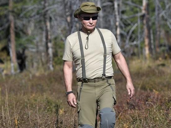 Путин один день отдохнул в тайге Хакасии