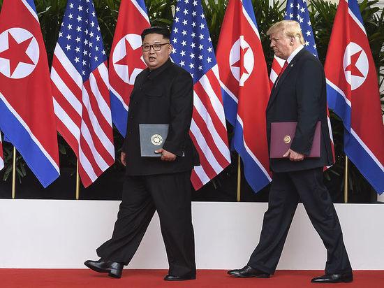 Трамп заявил, что они с северокорейским лидером