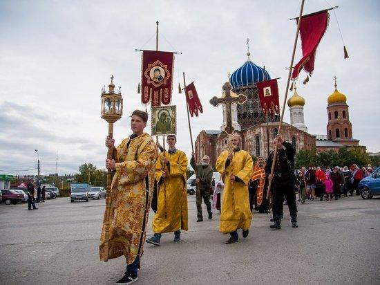 В Городище встретили день Веры, Надежды и Любви народным праздником