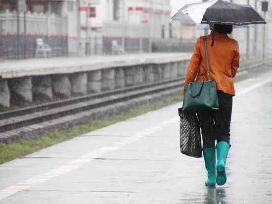 В Москве со среды зарядят дожди
