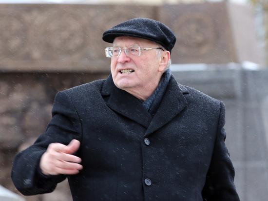 За оскорбление Хинштейна Жириновскому в Думе пригрозили наказанием