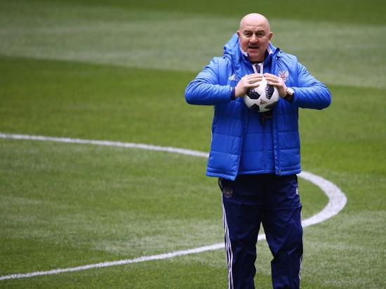 Черчесов объявил состав сборной России на матчи Лиги Наций
