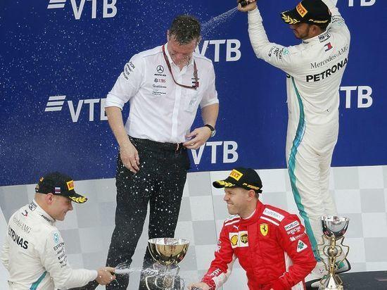 В Сочи прошел российский этап «Формулы-1»