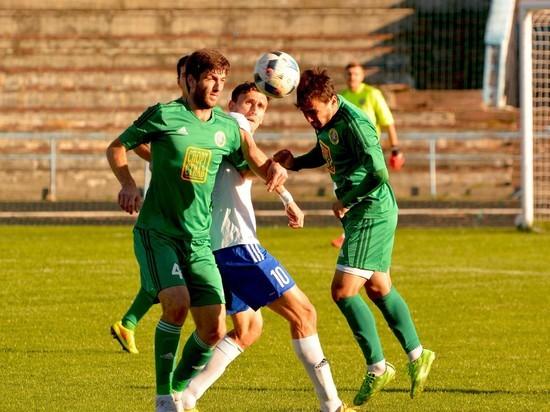 Северокавказское футбольное дерби в Назрани закончилось мирно