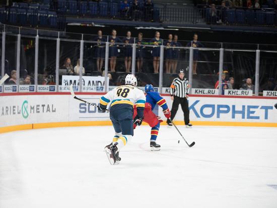 КХЛ: ЦСКА продлил беспроигрышную серию после победы над «Салаватом»