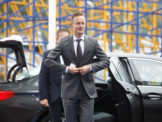 Украина внесла министра иностранных дел Венгрии в списки сепаратистов