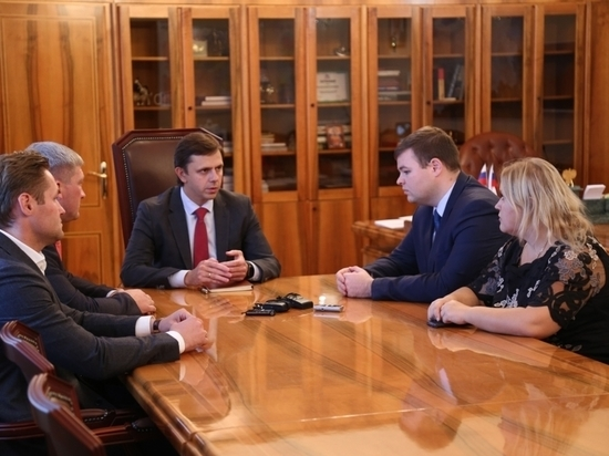 Губернатор Орловской области Андрей Клычков провёл встречу с кандидатами на пост руководителя региона на выборах 9 сентября 2018 года