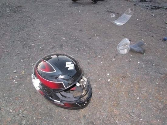 В Саранске на ул.Осипенко разбился молодой байкер