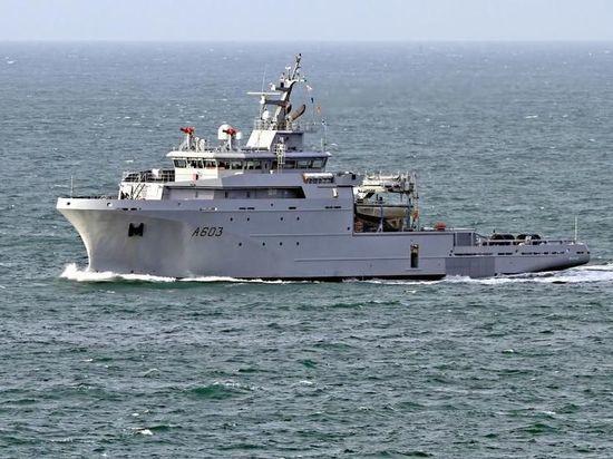 Российская разведка вела судно НАТО в Северном морском пути