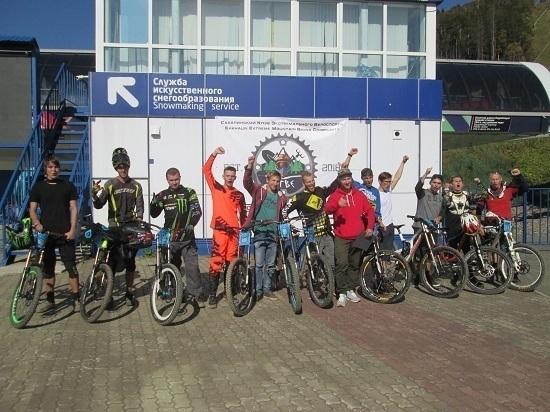 На «Горном воздухе» прошли любительские соревнования по даунхиллу