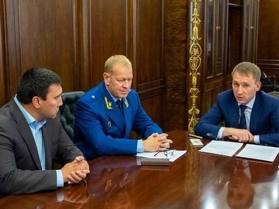 В области с рабочим визитом побывал Александр Козлов
