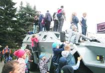 В  областной столице прошла региональная выставка в сфере обороны и безопасности «Служим Отечеству!»