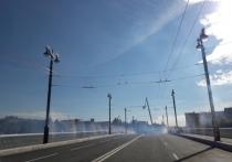 В Омске с помпой открыли обновленный Юбилейный мост