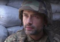 """Воюющий в Донбассе актер Пашинин пригрозил """"мерзавцам"""" самоубийством"""