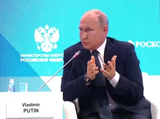 Путин посоветовал Трампу искать в зеркале виновника повышения нефтяных цен