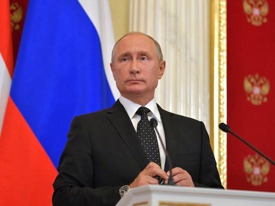 Путин призвал