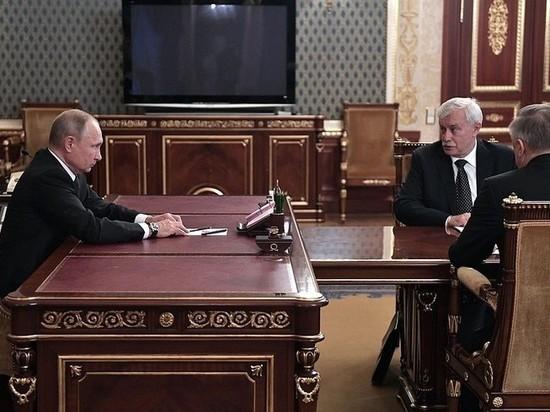 После рокировки у Путина Беглов и Полтавченко выглядели растерянно
