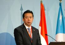 В Китае пропал президент Интерпола